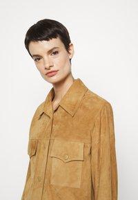 Alberta Ferretti - Button-down blouse - beige - 4