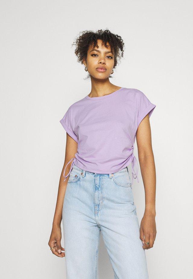 DANI DRAWSTRING - Basic T-shirt - lilac