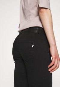 Dondup - PANTALONE MARGOT - Jeans Skinny Fit - black - 3