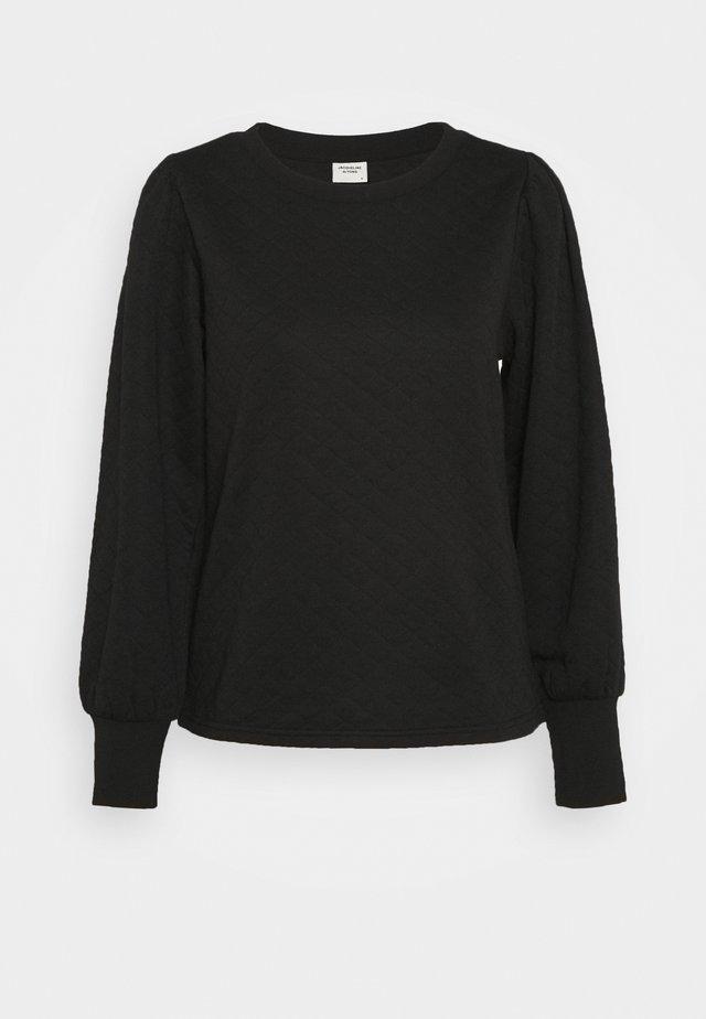 JDYBOLIVIA QUILTED  - Camiseta de manga larga - black