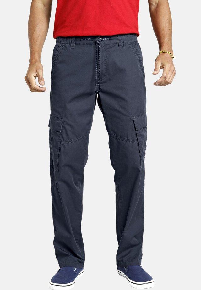THORVALD - Pantalon cargo - dunkelblau