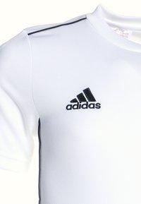adidas Performance - CORE 18 AEROREADY PRIMEGREEN JERSEY - Týmové oblečení - white/black - 2
