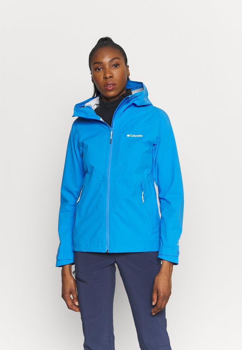 Columbia - OMNI-TECH™ AMPLI-DRY™ SHELL - Hardshell jacket - harbor blue