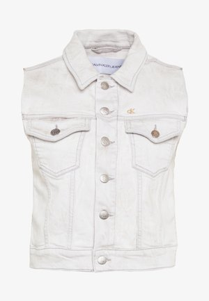 ARCHIVE VEST - Smanicato - bleach grey