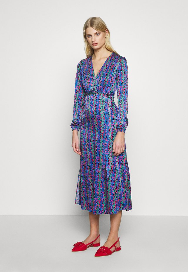 ISABEL LOU DRESS - Shirt dress - blue/pink/green