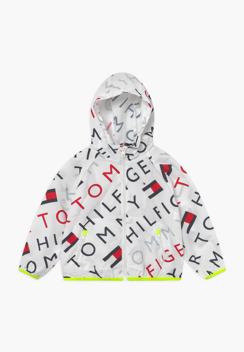 Tommy Hilfiger - SPORT PRINTED - Veste coupe-vent - white