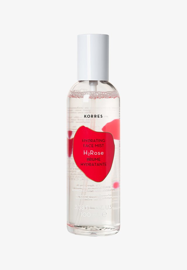 WILD ROSE H2ROSE HYDRATING FACE MIST - Fixerspray og -pudder - -