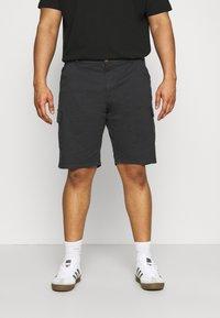 INDICODE JEANS - ATHLONE PLUS - Shorts - black - 0