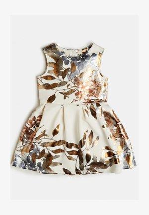 Cocktail dress / Party dress - mehrfarbig, weiß