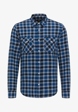 CLEAN WESTERN - Shirt - washed blue