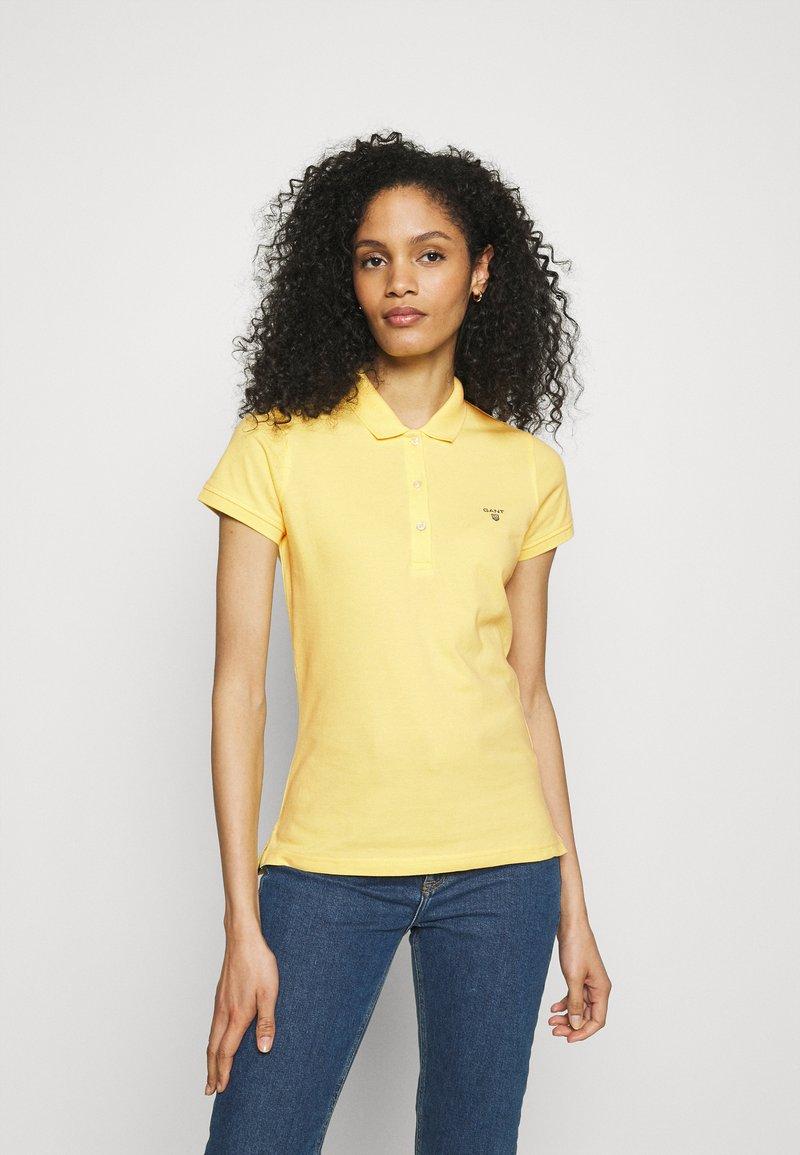 GANT - SUMMER - Poloskjorter - brimstone yellow