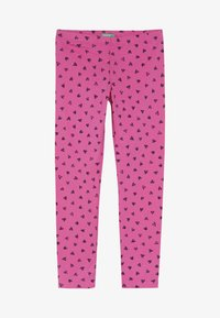 Benetton - Leggings - Trousers - pink - 2