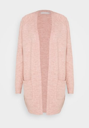 PCPERLA LONG  - Cardigan - misty rose