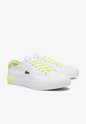 Trainers - wht/lt ylw