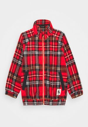 BABY CHECK JACKET UNISEX - Light jacket - red