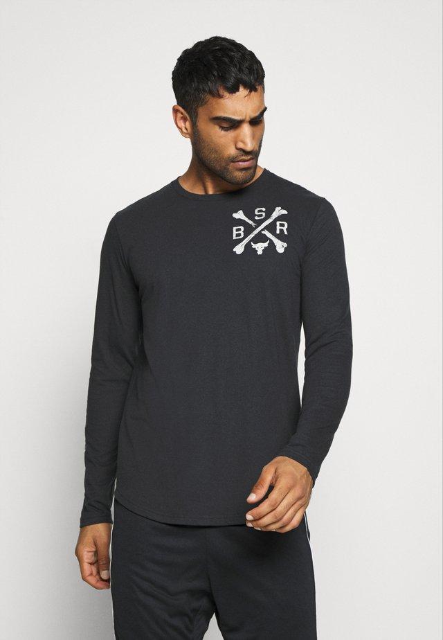 PROJECT ROCK - Sports shirt - black