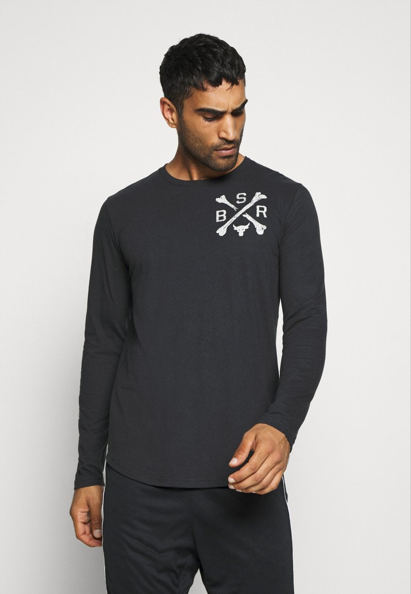 Under Armour - PROJECT ROCK - Sports shirt - black