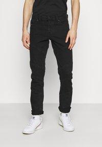 Diesel - Slim fit jeans - black denim - 0
