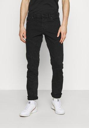 Slim fit -farkut - black denim