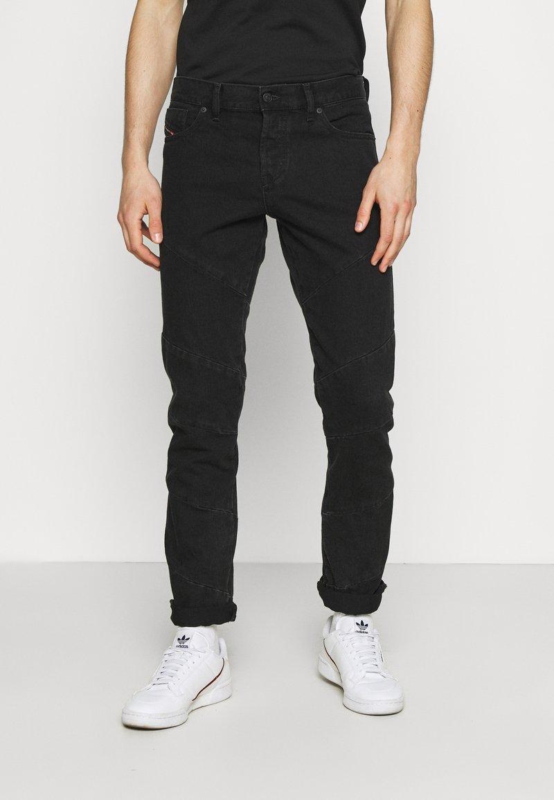 Diesel - Slim fit jeans - black denim
