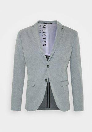 SLHSLIM COLE - Blazer jacket - navy blazer/white