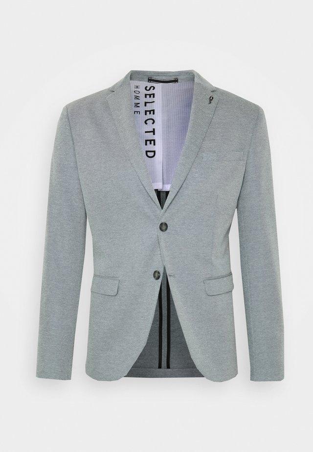 SLHSLIM COLE - Blazer - navy blazer/white