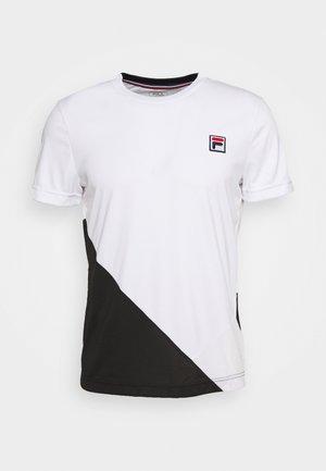 LEON - T-shirts print - white