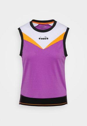 TANK CLAY - Top - violet zircon