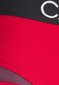 Calvin Klein Swimwear - CURVE HIGH WAIST - Bikini bottoms - rustic red - 5
