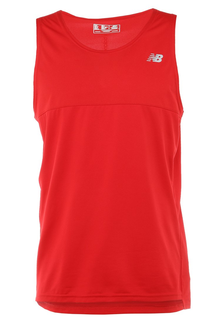 New Balance - ACCELERATE SINGLET - Sports shirt - teamred