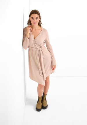 Jumper dress - beige caro