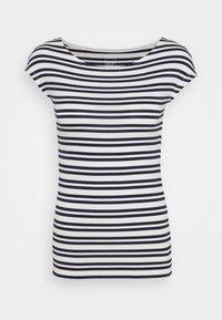 GAP - BATEAU - Print T-shirt - navy stripe - 0