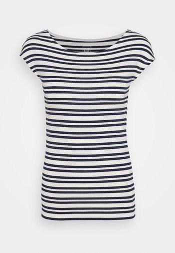 BATEAU - Print T-shirt - navy stripe