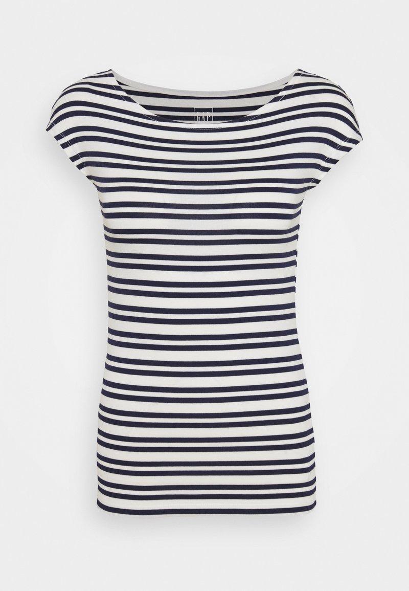 GAP - BATEAU - Print T-shirt - navy stripe