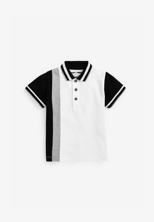 Polo shirt - black, white