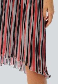 Alba Moda - Day dress - rot/koralle/weiß - 4