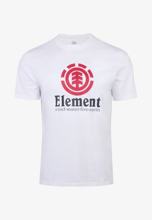 VERTICAL - Print T-shirt - white