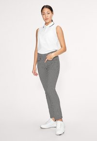 Röhnisch - SMOOTH  - Trousers - black/white check - 1