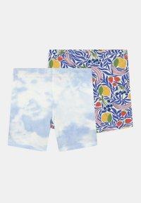 Gina Tricot Mini - MINI BIKER 2 PACK - Shorts - blue - 0