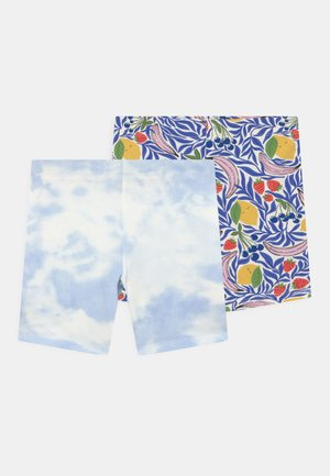 MINI BIKER 2 PACK - Shorts - blue