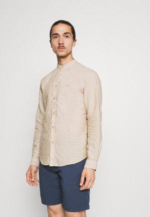 MAO ROLL UP - Shirt - beige