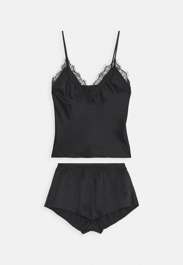 CHERRYANN CAMI SET - Pyjamaser - black