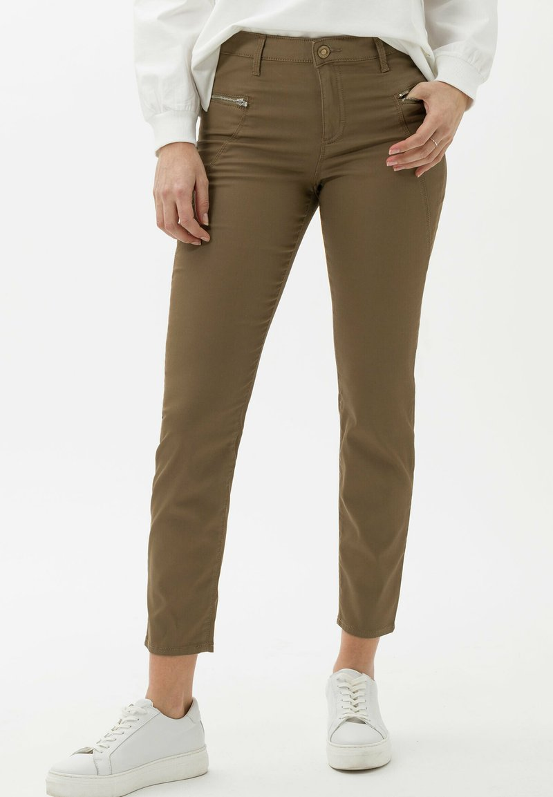 BRAX - STYLE SHAKIRA S - Jeans Skinny Fit - clean tobacco
