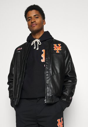 MLB PREMIUMNEW YORK METS BOMBER JACKET - Club wear - black