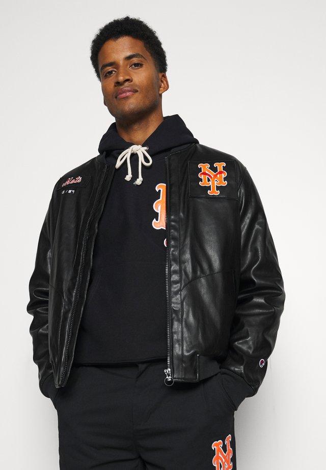 MLB PREMIUMNEW YORK METS BOMBER JACKET - Pelipaita - black