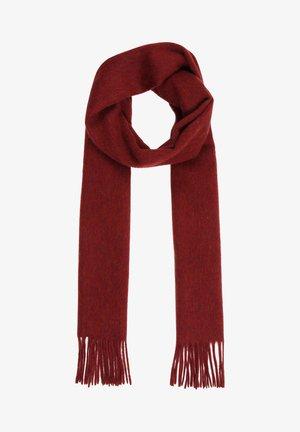 MIT SCHÖNEN FRANSEN - Scarf - vintage red