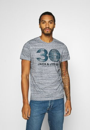 GRAPHIC TEE CREW - T-shirt print - cool grey melange