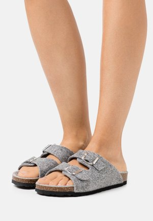 BIACARIS  - Pantuflas - dark grey