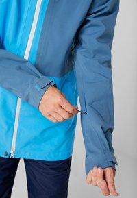 PYUA - EXCITE - Snowboard jacket - stellar blue/malibu blue - 5