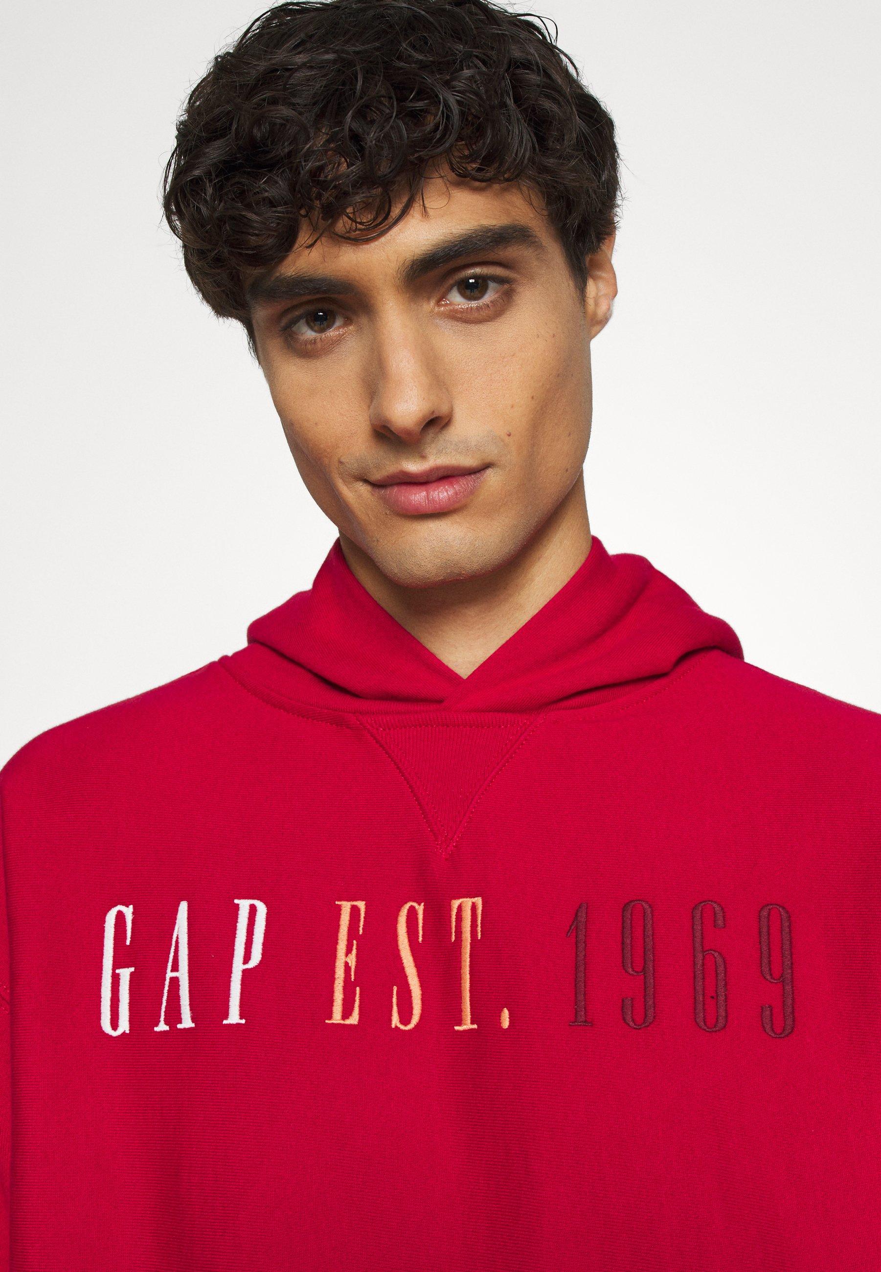 Gap Hoodie - Admiral Red/rød
